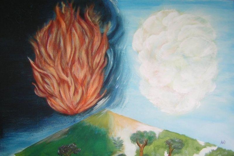 Gods vuurwolk beschermt de gemeente