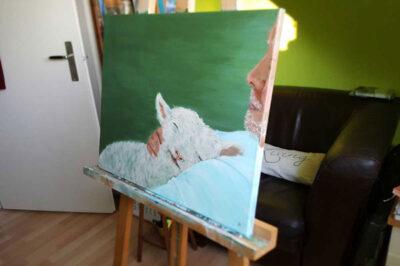 Poster A4 'Mijn Herder'
